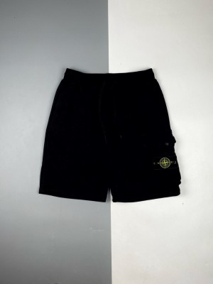 Stone Island/石头岛 21ss 口袋徽章五分短裤