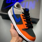 NK Dunk Low 蓝橙绿