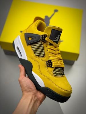 Air Jordan 4 Retro Lightning 电母 黄闪电
