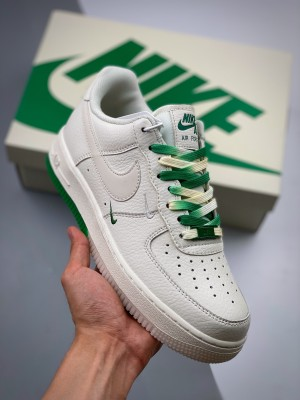 Air Force1' 07 串标白绿渐变