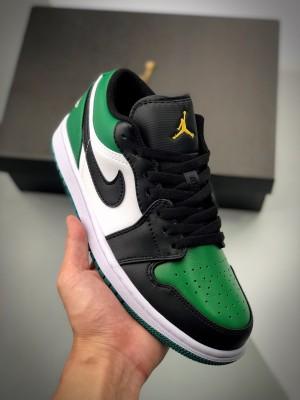 Air Jordan 1 Low 黑绿低帮