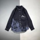 Evisu/福神 21Fw 山水画拔染长袖衬衫