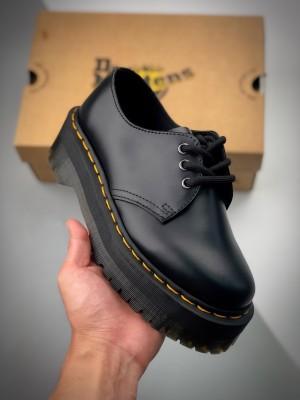 Dr.martens 21s 马丁靴1461  低帮松糕中厚底系列