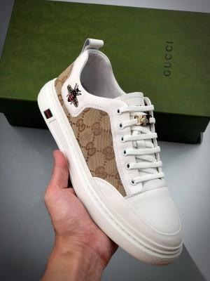 G家小白鞋系列 海外版 刺绣小蜜蜂