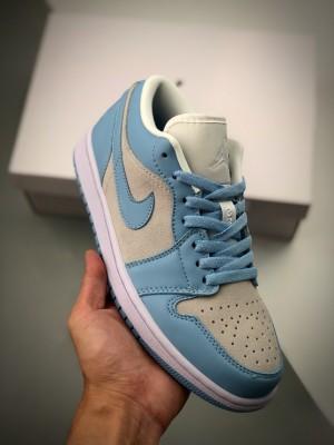 Air Jordan 1 Low 灰蓝低帮 白绿低帮