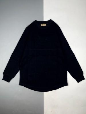 Burberry/博柏利 18Fw 后背字母徽标印花蝙蝠袖圆领卫衣