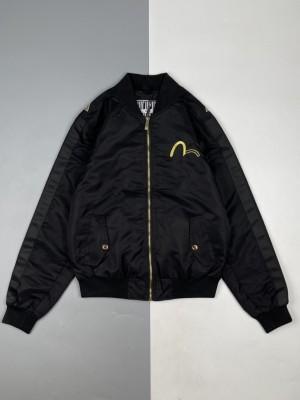 Evisu/福神 21Fw 般若及标志刺绣飞行员夹克外套