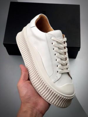 Jil sander 厚底瓦楞鞋 正确大头版
