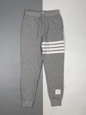 Thom Browne/汤姆布朗 21FW 四杠条纹色织运动长裤