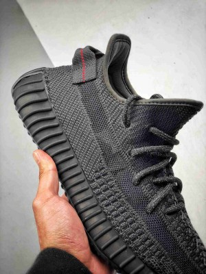 "Adidas Yeezy 350 Boost V2  ""Black""  3M 黑天使、白天使"