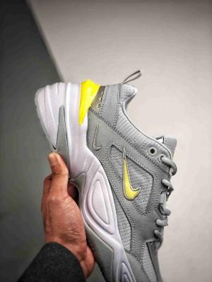 Nike M2K Tekno 电镀灰黄