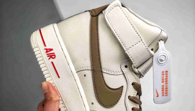Air Force 1 High 奶咖配色