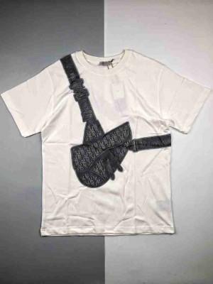 Dior迪奥 20SS马鞍包印花短袖T恤