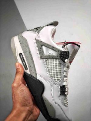 """Air Jordan 4 Retro """"White Cement""""  白水泥"""