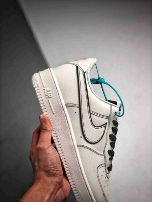 Air Force 1 '07 LV8 3M反光 白黑满天星